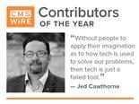 "CMSWire contributor of the year, Jed Cawthorne: ""Without people to apply their imagination as to how tech is used to solve our problems, then tech is just a failed tool"""