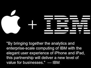 Big Bigger Huge Apple IBM Create Massive Partnership