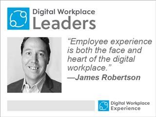 James Robertson, Digital Workplace Leaders
