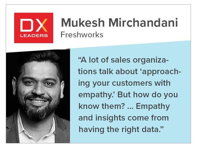 Mukesh Mirchandani of Freshworks: