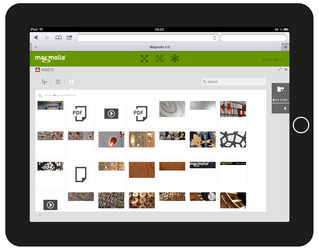 Magnolia 5 Released: Can Touch Separate Magnolia from the CMS Masses?