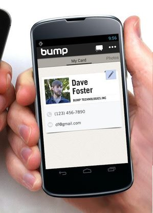 Google Buys Bump Video + File Sharing App