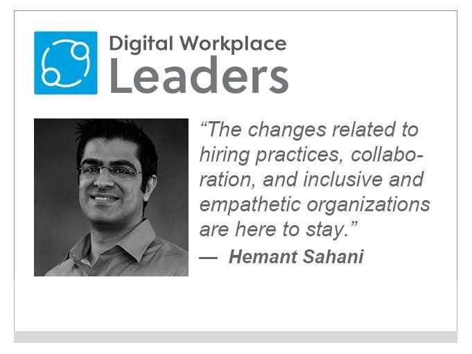 """VMWare's Hemant Sahani: """"The changes related to hiring practices, collaboration, and inclusive and empathetic organizations are here to stay."""""""