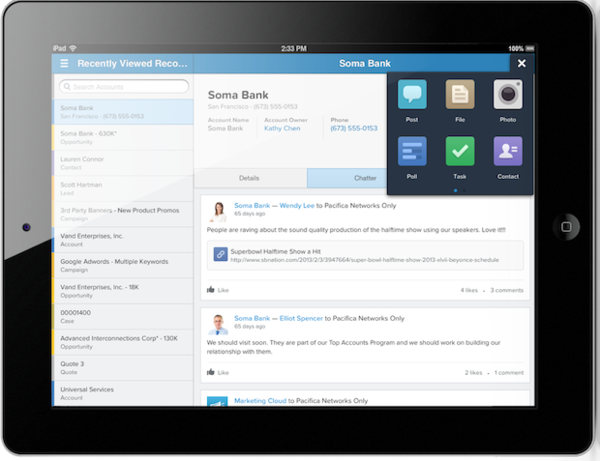Salesforce Debuts Salesforce1 for Building Mobile Apps