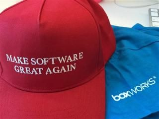 BoxWorks swag