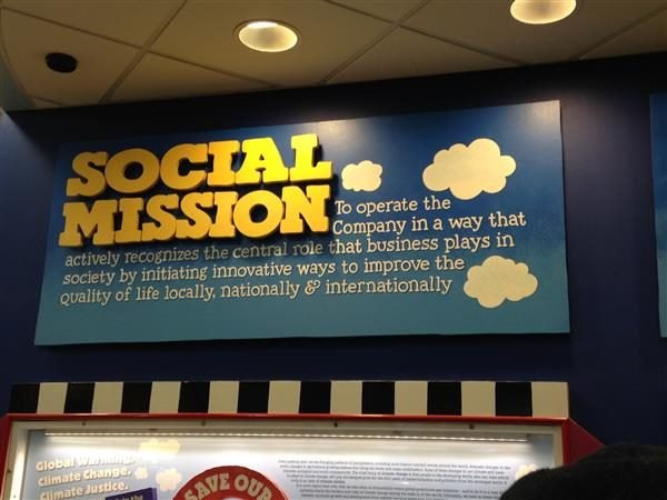 Ben and Jerry's Social