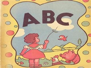 cover of a child's ABC book