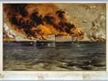 Siege of Ft. Sumter by Currier & Ives
