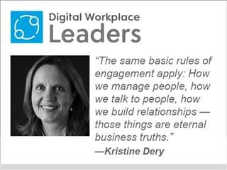 "Kristine Dery of MIT: ""The same basic rules of engagement apply: How we manage people, how we talk to people, how we build relationships — those things are eternal business truths."""
