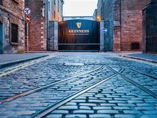 Guinness Brewery at St. James Gate in Dublin