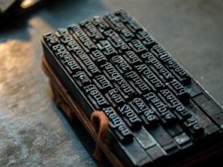 letterpress - content marketing by another name?