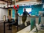 Adobe opened tech cafes