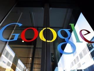 google logo on a door