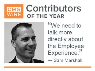 Top contributor of 2017, Sam Marshall