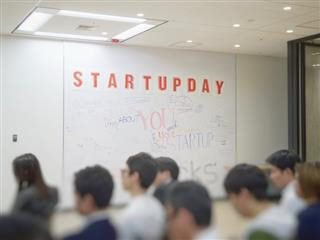 people attending a meeting for startups