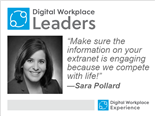 Digital Workplace Leader Sara Pollard, senior manager of digital strategy and brand engagement at Walmart