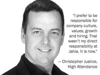 Christopher Justice, CEO, High Attendance