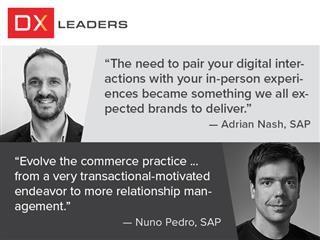 SAP's Adrian Nash and Nuno Pedro