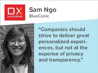 """BlueConic's Sam Ngo: """"Companies should strive to deliver great personalized experiences, but not at the expense of privacy and transparency. """""""
