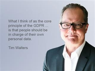 Tim Walters of The Content Advisory shared his thoughts on the GDPR