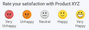 rate your satisfaction