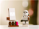 storm trooper teaching a class with a bell curve example