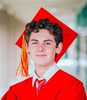 Headshot of Pacific Grove High School student Nathan Taormina.