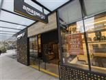 Amazon Go store with Just Walk Out technology - editorial use only