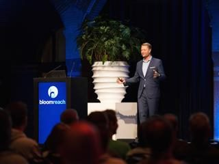 Arje Cahn, CTO of BloomReach, shared the next steps for the company's DX platform at BloomReach Connect Amsterdam