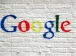 google logo spray-painted on a wall