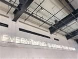 A neon sign that reads Everything is going to be alright on a white wall - sentiment analysis concept