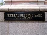 plaque in front of the Federal Reserve Bank of Cleveland