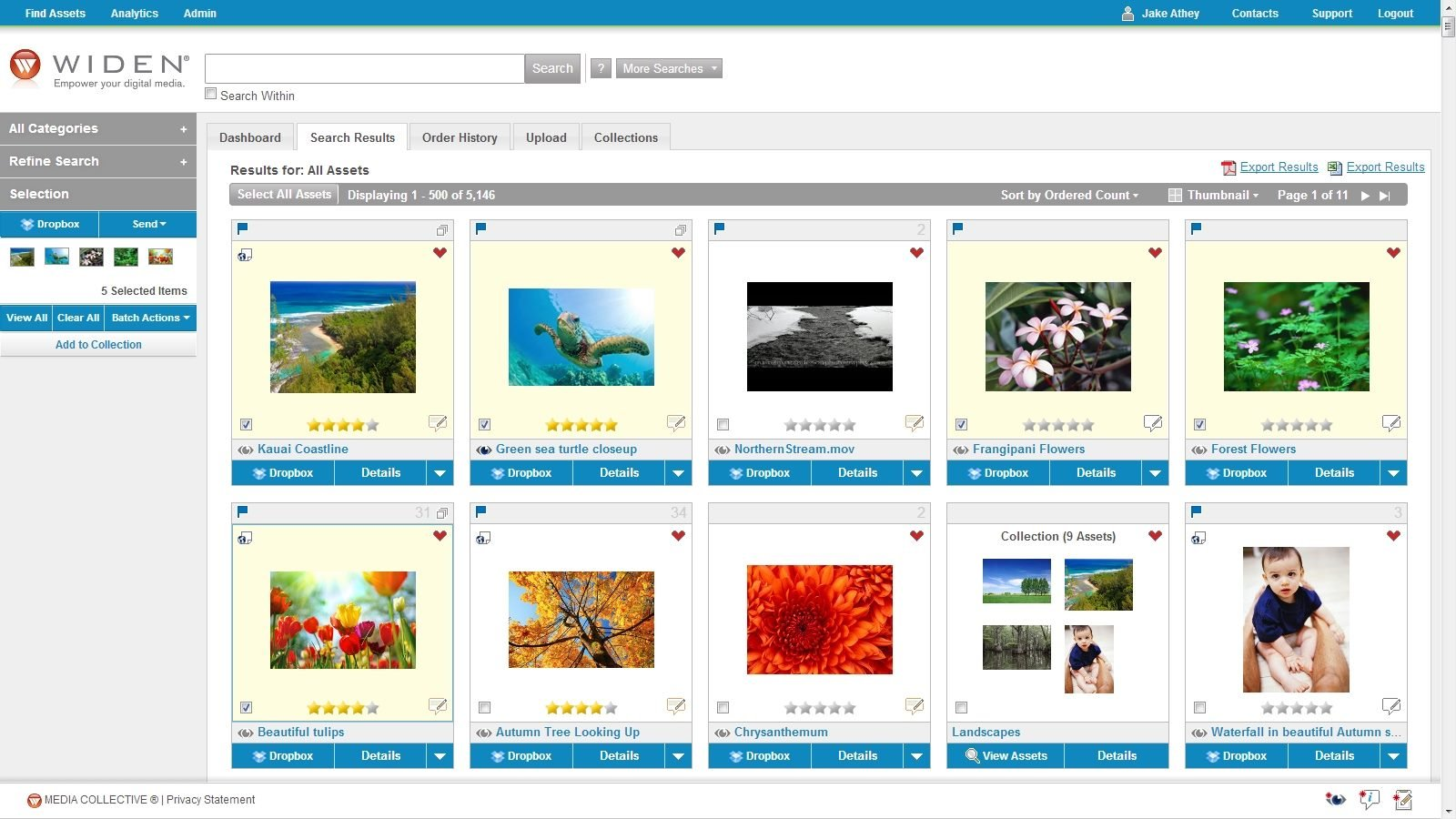 Dropbox Search Results in Widen Media Collective 6.4.jpg