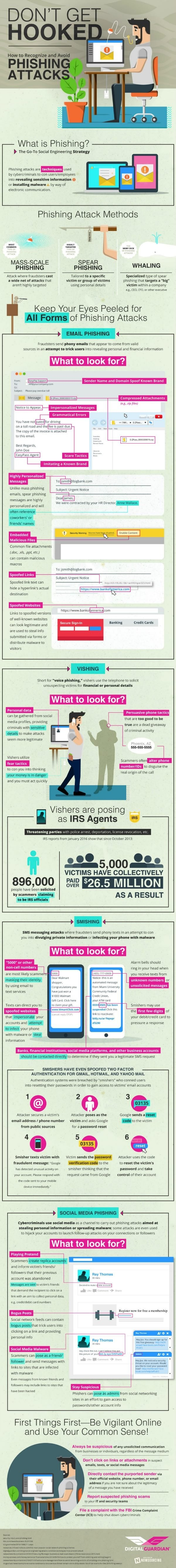 phising attacks infographic
