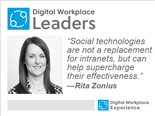 Rita Zonius Digital Workplace Leader series