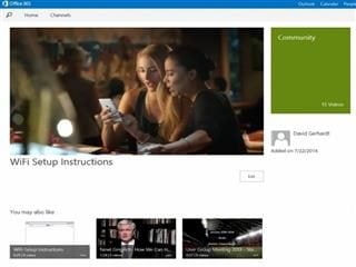 Microsoft Adds Video Service to Office 365
