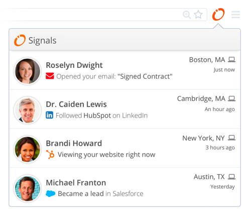 HubSpot - Signals, marketing automation, digital marketing