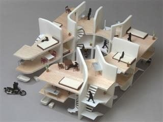 """Nakae Architects - NE Apartment - Model 01.jpg"" by 準建築人手札網站 Forgemind ArchiMedia is licensed under CC BY 2.0"