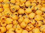 pile of lego people heads
