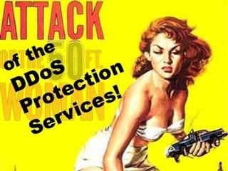 Hacked Attack of the DDoS Protection Services