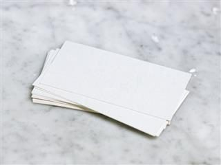 blank stack of cards