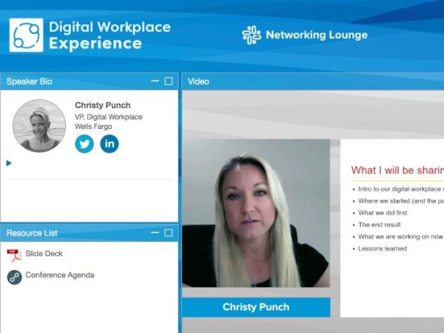 Highlights from the 2020 Digital Workplace Experience Conference
