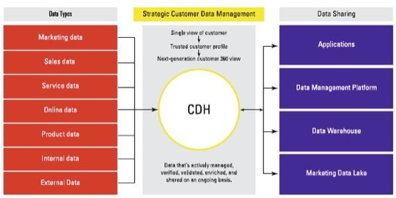 how a customer data hub fits within customer data management ecosystem