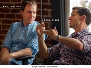 Quip founders Bret Taylor and Kevin Gibbs