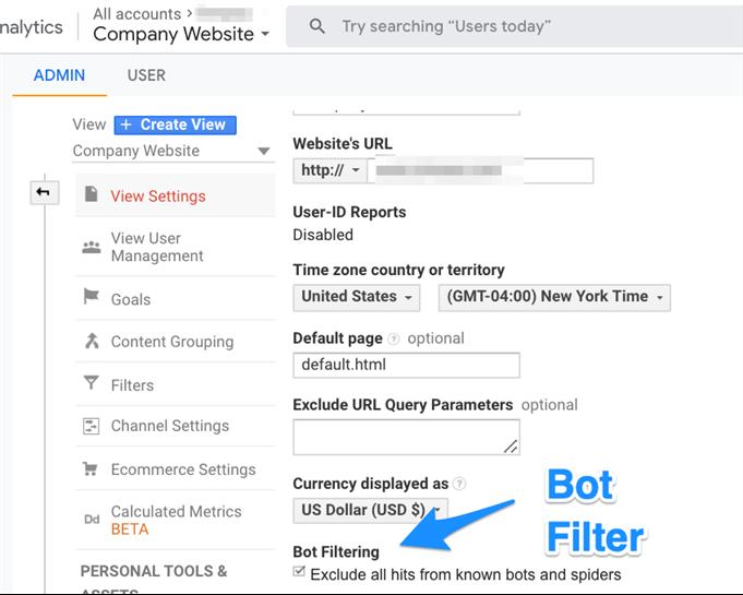 Google_Analytics_Bot_Filter