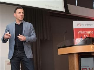 Scot Gillespie, CTO of Washington Post, presenting at DX Summit 2017