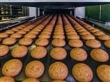 cookies on a conveyor belt