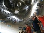 under the cloud gate, Chicago