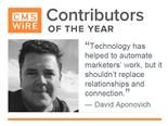 David Aponovich, one of CMSWire's contributors of the year