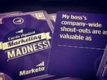 Marketo's cards against marketing madness card deck.